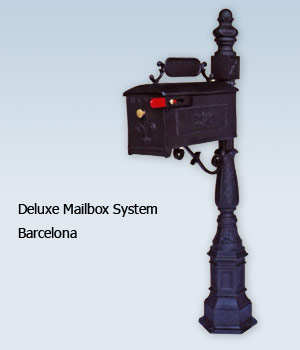 Deluxe Mailbox System - Barcelona